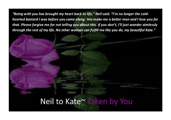 Neil's plea to Kate