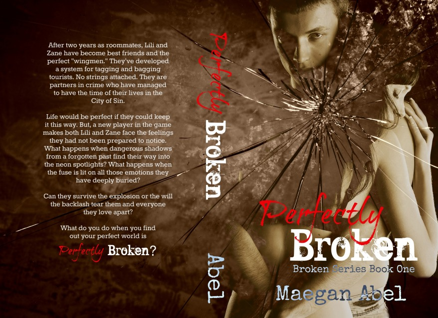 Perfectly Broken Paperback Cover