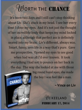 Worth the Chance excerpt AToMR sneak peek 1jpg
